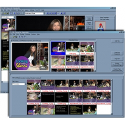 CG-350 HD Character Generator and Titling Software for TV, Video and Streaming